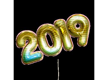 2019 Balloon Text