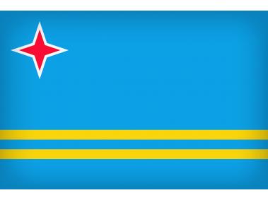 Aruba Large Flag