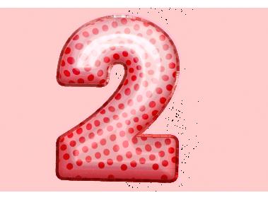 Balloon Style 2 Number