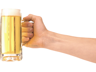 Beer and Hand