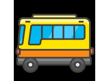 Bus Emoji Icon