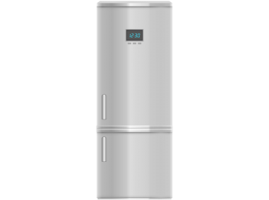 Fridge Freezer Inox