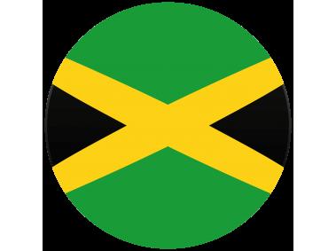 Jamaica Round Flag