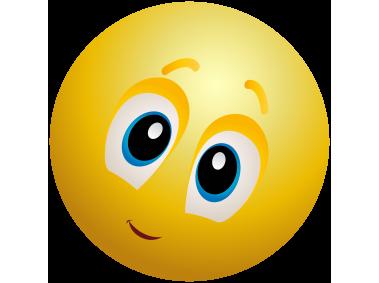 Kindly Face Emoticon