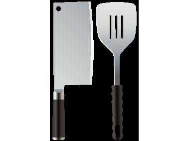 Kitchen Knife and Spatula