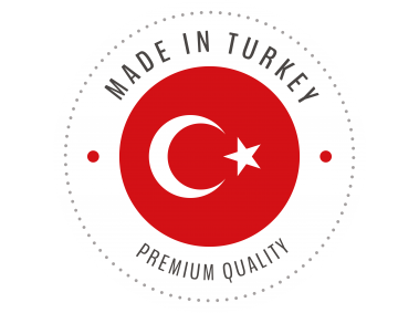 Made in Turkey Badge
