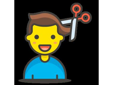 Man Getting Haircut Emoji
