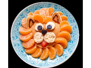 Mandarines on Plate