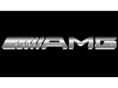 Mercedes AMG Metallic Logo