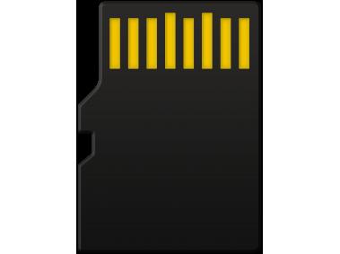 Micro SD Card Back