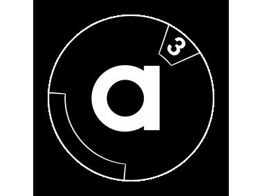 a sup 3 sup Logo