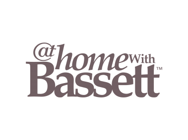 At Home With Bassett   Logo