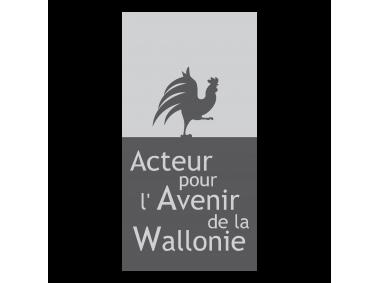 Acteur pour l'Avenir de la Wallone Logo