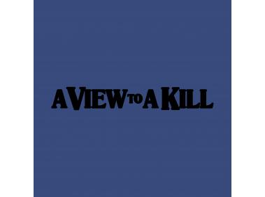 A View To A Kill Logo