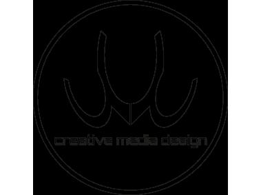 creative media design Logo