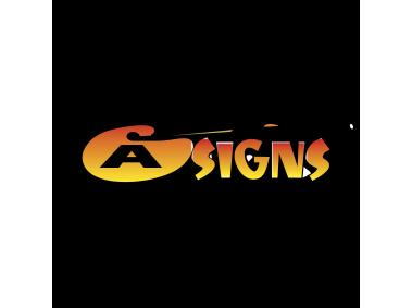 A Signs Logo