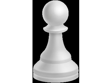 Pawn White Chess Piece