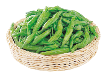 Peppers in Basket