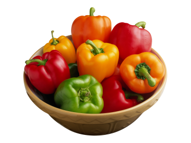 Peppers in the Bowl
