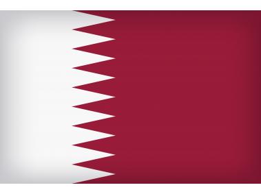 Qatar Large Flag