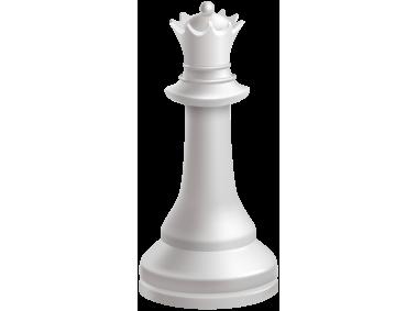 Queen White Chess Piece