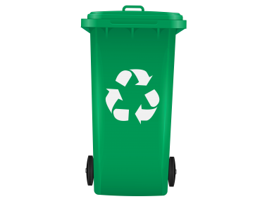 Recycling Design Element