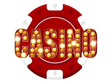 Red Casino Chip Decoration