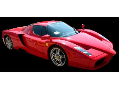 Red Enzo Ferrari Super