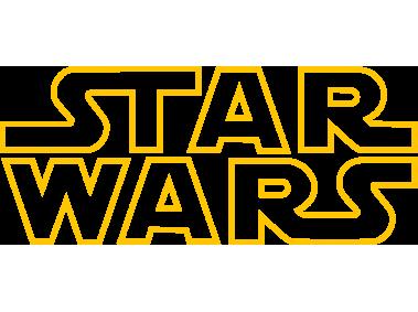 Star Wars Logo Outline