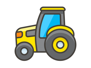 Tractor Emoji Icon