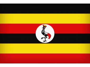 Uganda Large Flag