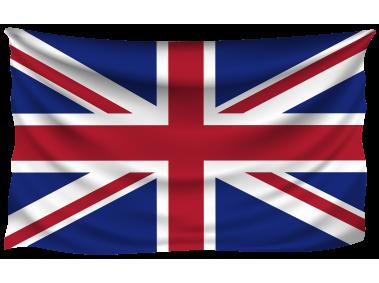 UK Wrinkled Flag
