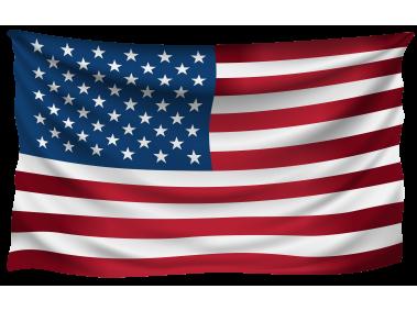 USA Wrinkled Flag