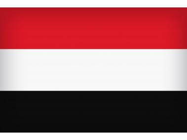 Yemen Large Flag