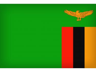 Zambia Large Flag
