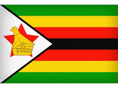 Zimbabwe Large Flag