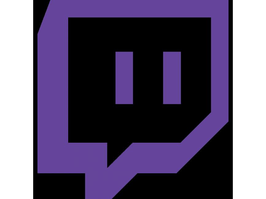 Twitch Purple Logo PNG Transparent Icon - Freepngdesign.com